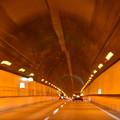 渋滞解消。@中央道笹子トンネル上り [8/22]