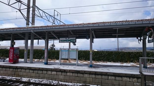 写真: 4-5番線ホーム [JR 余目駅]