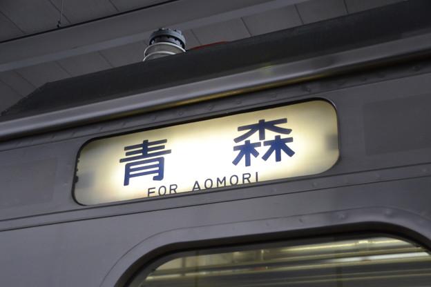 方向幕 (青い森701系 青い森701-6) [青い森鉄道 八戸駅]
