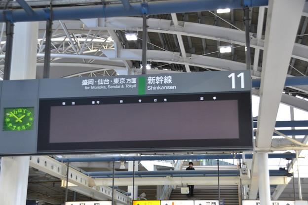 11番線発車標 [JR 八戸駅]