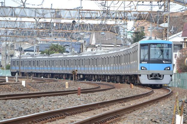 小田急4000形 4064F [JR 常磐線 馬橋-北松戸]