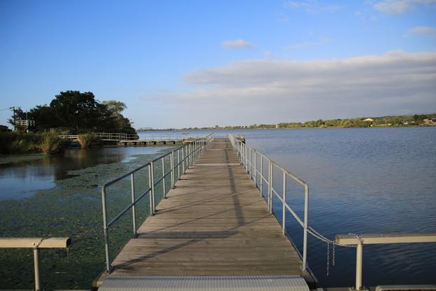 秋風と湖上散歩