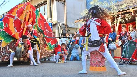 ほうらい祭り~獅子舞い