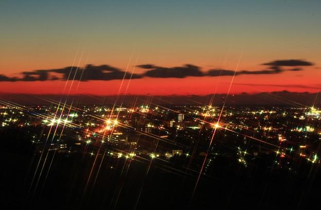 夕映え~街の煌き