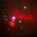 Photos: NGC2024 燃える木星雲 と IC434 馬頭星雲 2016年1月1日jpg