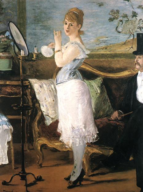 マネ-1877ナナ-ハンブルグ美術館