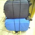 写真: 荷物も多いから一人アフター...