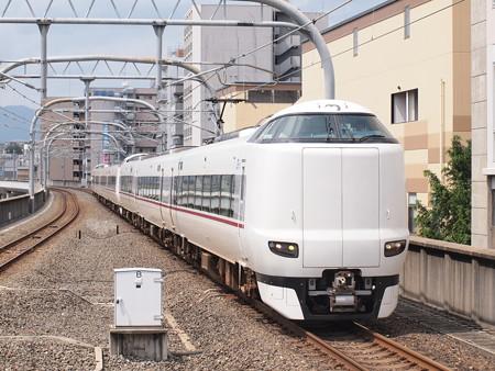 287系特急きのさき 山陰本線二条駅