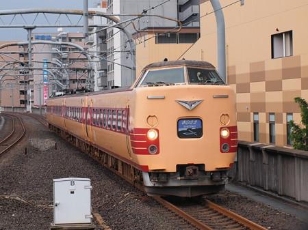 381系特急きのさき 山陰本線二条駅
