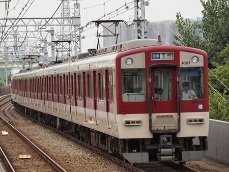 近鉄1020系普通 阪神なんば線大物駅