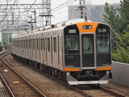 阪神1000系区間準急 阪神なんば線大物駅