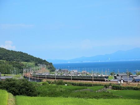 225系新快速 湖西線北小松~近江高島01