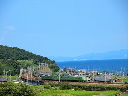 117系末茶色普通 湖西線北小松~近江高島