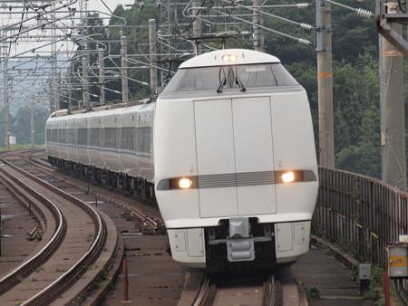 683系 特急サンダーバード 湖西線志賀駅01