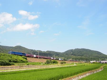 EF510青釜 湖西線北小松~近江高島