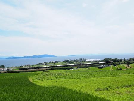 EF81 トワイライトエクスプレス 湖西線北小松~近江高島