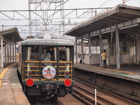 14系 サロンカーなにわ 湖西線志賀駅01