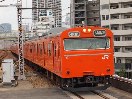 103系普通 大阪環状線野田駅02