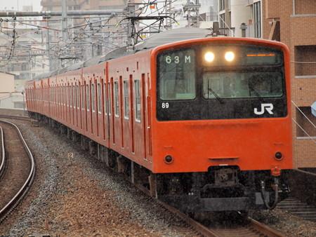 201系普通 大阪環状線福島駅01