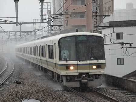 221系大和路快速 大阪環状線福島駅02