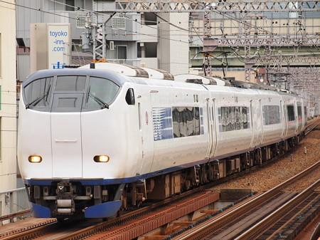 281系特急はるか 大阪環状線野田駅01