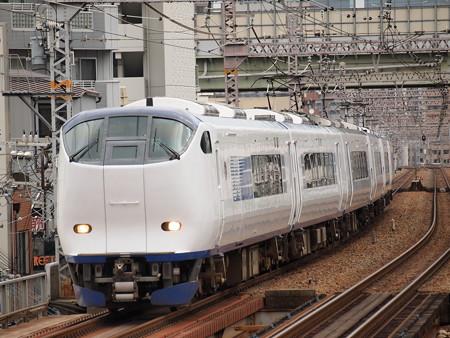 281系特急はるか 大阪環状線野田駅03