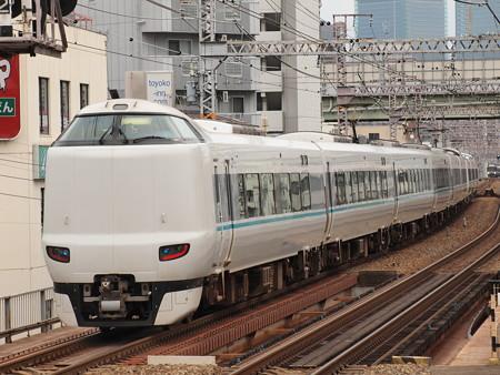 287系特急くろしお 大阪環状線野田駅01