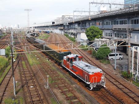 DE10トワ入れ替え 宮原操車場02