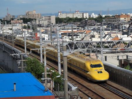ドクターイエロー 山陽新幹線新神戸~新大阪