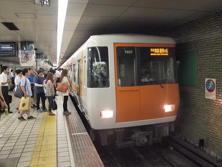 近鉄7000系 大阪市営地下鉄中央線本町駅