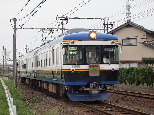 一畑電車5000系 北松江線武志~川跡