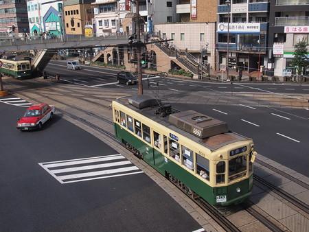 長崎電鉄500形 長崎駅前