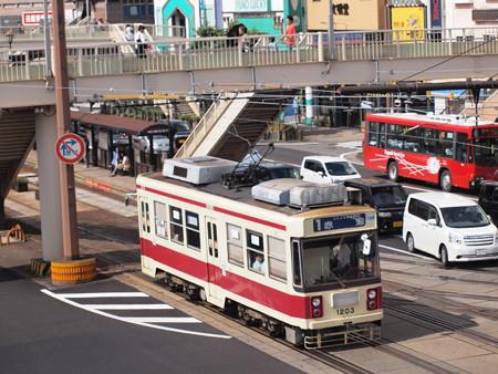 長崎電鉄1200形 長崎駅前02