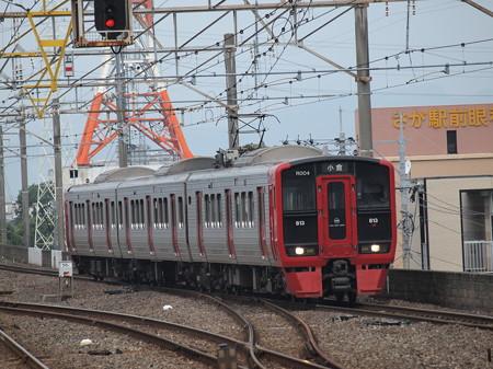 813系普通 長崎本線佐賀駅