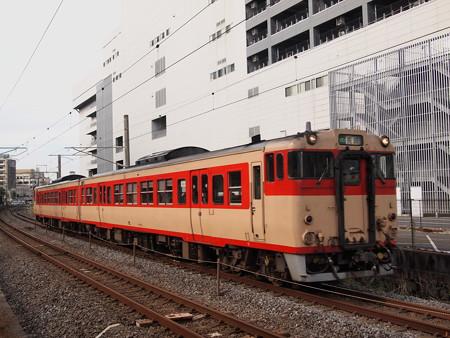 キハ66系国鉄色普通 長崎本線浦上~長崎