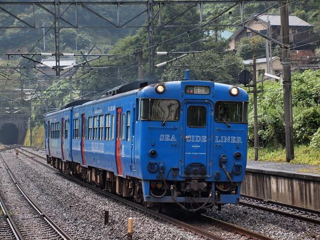 キハ66系快速シーサイドライナー 長崎本線現川駅