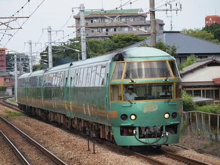 キハ71系特急ゆふいんの森 鹿児島本線水城駅