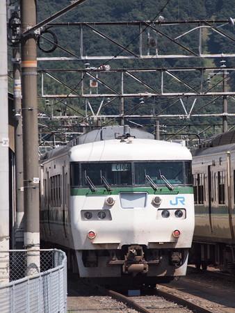 117系福知山色  山陽本線新山口駅01