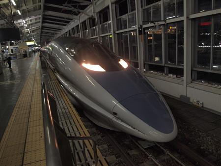 500系こだま 山陽新幹線岡山駅02