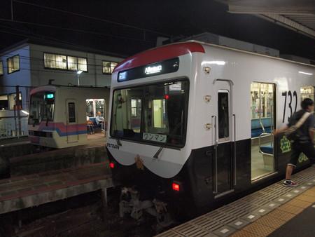 叡電700形パトカー 鞍馬線出町柳駅