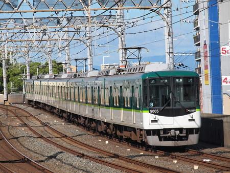 京阪9000系普通 京阪本線大和田駅