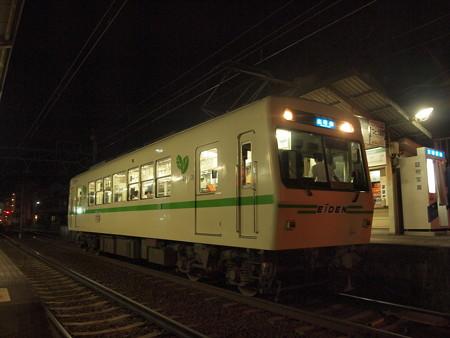 叡電700形  叡山本線茶山駅04