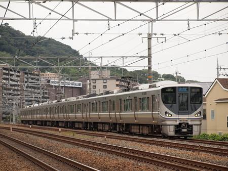 225系新快速   東海道本線島本~山崎01