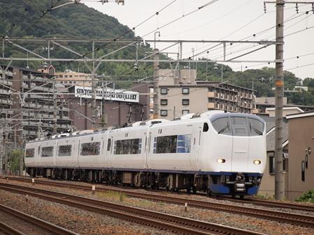 281系特急はるか  東海道本線島本~山崎03
