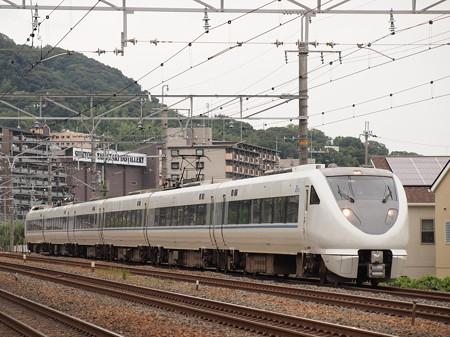 683系特急サンダーバード 東海道本線島本~山崎02