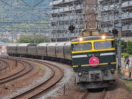 EF81 寝台特急トワイライトエクスプレス 東海道本線島本~山崎01