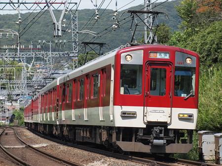 近鉄1220系急行 近鉄大阪線関屋~二上