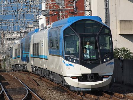 近鉄50000系しまかぜ試運転 近鉄京都線大久保駅