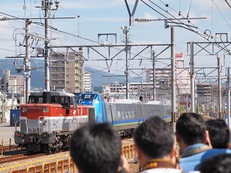 DE10 キハ285系甲種  山陽本線鷹取駅02