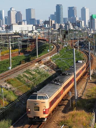 381系特急こうのとり 東海道本線塚本~尼崎2